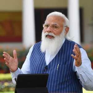 Covid-19 India Makin Tak Terkendali, PM Modi: Gelombang Kedua Datang Seperti Badai