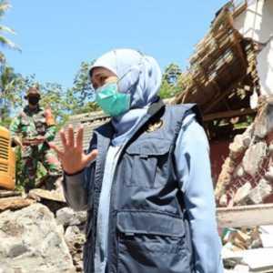 Khofifah Minta Percepatan Penanganannya Korban Terdampak Gempa Di Lumajang