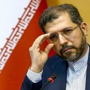 Marah Pejabatnya Disanksi UE, Khatibzadeh: Negosisasi Batal, Mereka Pengkhotbah HAM Palsu Bermotif Politik
