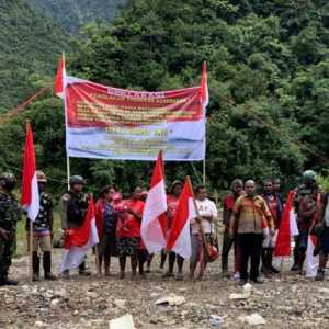 Warga Pegunungan Papua Deklarasi Tolak Kekerasan KKB