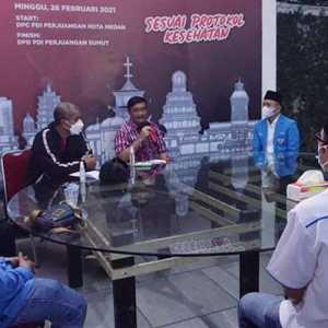 Djarot Saiful Buka Puasa Bersama KNPI Sumut, Dorong Pemuda Jadi Perisai Bangsa