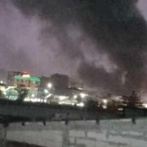 Pasar Inpres Jakarta Selatan Kebakaran Senin Petang