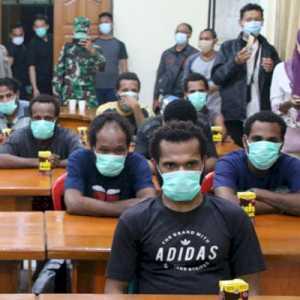 Sempat Ditahan Beberapa Bulan, 12 Aktivis Kasus Makar Dibebaskan Polres Merauke