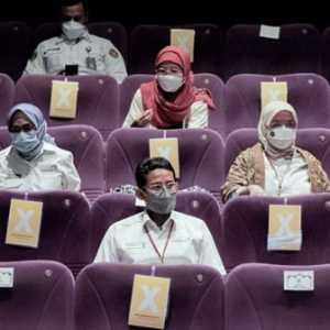 Sandiaga Uno: Pemerintah Pasang Badan Untuk Membuka Bioskop