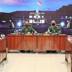 Sukseskan PON Papua, Pangdam XVII/Cenderawasih Gelar Rapat Bersama Pejabat Kodam