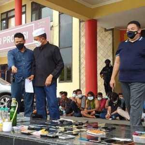 Tim Gabungan Grebek Kampung Narkoba Tangga Buntung, 1,5 Kg Sabu Diamankan