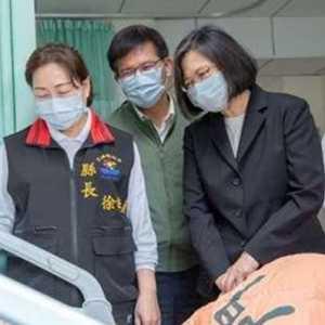 Presiden Taiwan Tsai Ing-wen Sumbangkan Satu Bulan Gaji Untuk Korban Kecelakaan Kereta