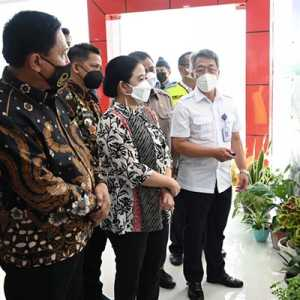 Resmikan Bandara Taufiq Kiemas, Puan Berharap Bisa Bantu Peningkatan Kesejahteraan Masyarakat Lampung