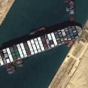 Mesir Minta Ganti Rugi 1 Miliar Dolar Atas Insiden Kapal Ever Given