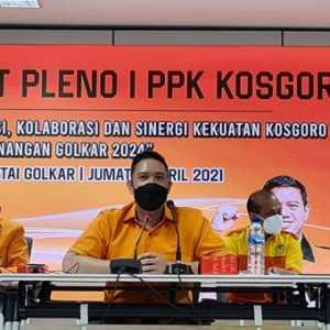 Rapat Pleno Perdana, Kosgoro 1957 Solid Menangkan Golkar Di 2024