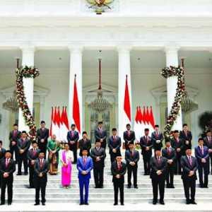 Ini Sepuluh Menteri Yang Kantongi Sentimen Positif Tertinggi