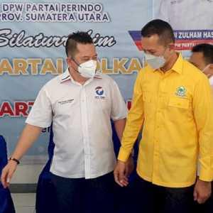 Sambangi PKS, Nasdem, Dan Perindo, Persiapan Golkar Sumut Menuju 2024?