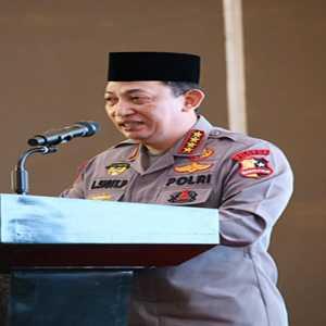 Hadiri Tanwir Literasi Kebangsaan, Kapolri Ajak Pemuda Muhammadiyah Bangun Ketahanan Nasional