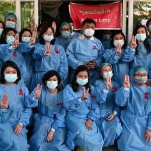 Junta Myanmar Sasar 19 Dokter Karena Ikut Gerakan Pembangkangan Sipil