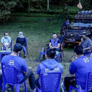 Konsolidasi Di Kaki Gunung Merapi, AHY: Tetap Waspada, Jangan Lengah!
