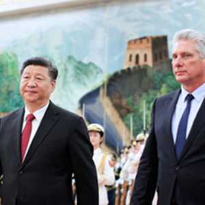 Xi Jinping Senang  Miguel Diaz-Canel Terpilih Sebagai Pemimpin Baru Partai Komunis Kuba