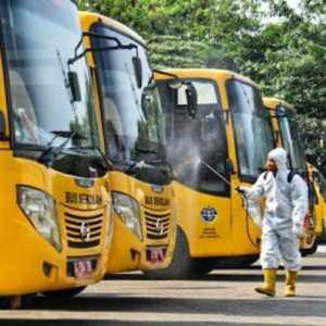 Uji Coba PTM Lancar, Pemprov DKI Siapkan 50 Bus Sekolah Untuk Antar Jemput