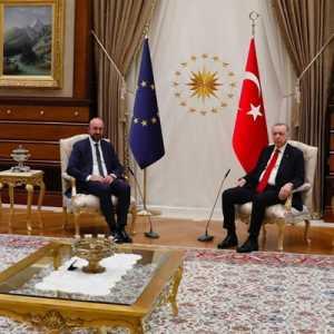 Skandal Kursi: Erdogan Adalah 'Korban' Yang Sebenarnya Dari Perselisihan Lama Dua Pemimpin UE