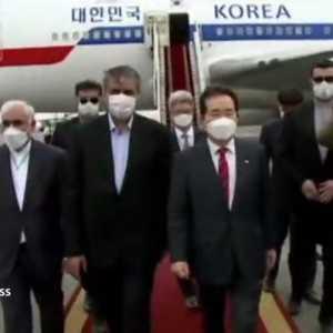 PM Korsel Tiba Di Iran Di Tengah Sejumlah Masalah Seoul-Teheran