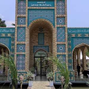 Melihat Lebih Dekat Masjid Pertama Bergaya Arsitektur Uzbekistan Di Indonesia