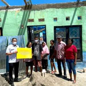 BTN Bantu Renovasi Ratusan Rumah Terdampak Bencana Siklon Seroja di Kupang