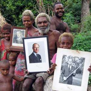 Anggap Pengeran Philip Sebagai Dewa, Suku Vanuatu Gelar Upacara Berkabung