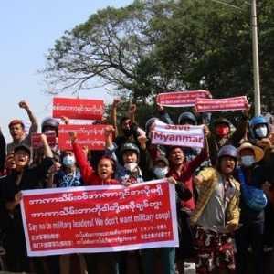 Junta Myanmar Gencar Tangkap Selebriti Pendukung Aung San Suu Kyi