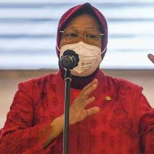 Ditanya Soal Reshuffle Kabinet, Risma: Enakmu Kementerian Opo? Pendidikan?