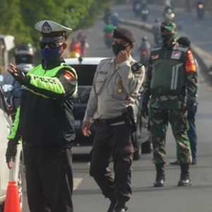 166.734 Personel Gabungan TNI-Polri Diturunkan Amankan Larangan Mudik