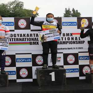 Terapkan Prokes Ketat, ICF BMX International Championship 2021 Digelar di Yogyakarta.
