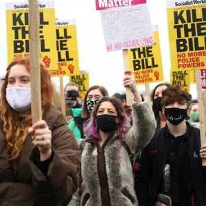 'Kill The Bill', Gerakan Protes Warga Inggris Tolak RUU Polisi