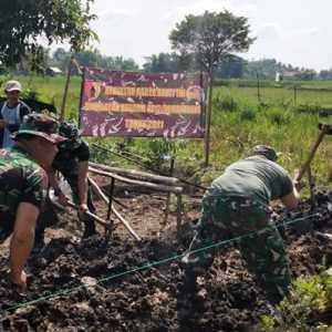 Sukseskan Program Ketahanan Pangan, Kodim Lamongan Intens Bantu Petani