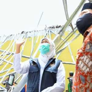 Pasca Gempa 6,1 M, Khofifah Minta Masyarakat Jatim Waspadai Ancaman Bencana Lain