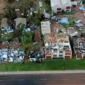 Badai Langka Hantam Australia, Puluhan Ribu Orang Kehilangan Listrik