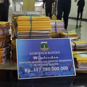 Dalami Dugaan Korupsi Hibah Ponpes, Kejati Banten Segel Gudang Kantor Biro Kesra