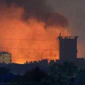 Pabrik Pakaian Milik Investor China Di Myanmar Rusak Terbakar, Diduga Ada Yang Sengaja Melakukannya