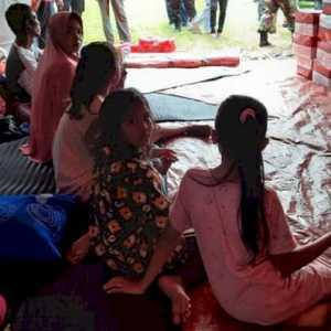 Terdampak Gas Beracun, 302 Warga Aceh Timur Terpaksa Mengungsi Ke Kantor Camat