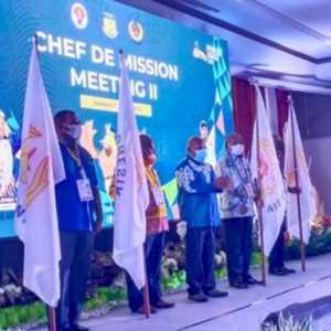 Buka CdM PON XX Papua, Lukas Enembe Anggap Anugerah Yang Belum Tentu Terulang