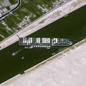 Total Kerugian Insiden Kapal Ever Given Di Terusan Suez Capai 1 Miliar Dolar